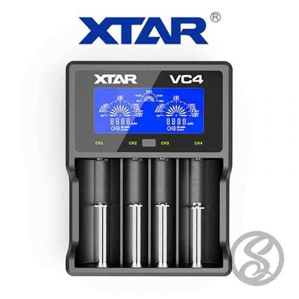 Chargeur 4 accus XTAR VC4 - Xtar