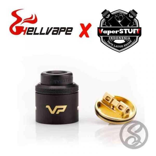 Dripper VP RDA Black - HellVape X VapersStuff