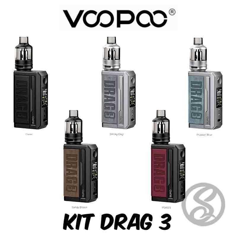 Kit Drag 3 - Voopoo