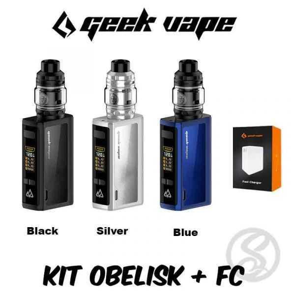 Kit Obelisk 120 + Fast Charger Geekvape