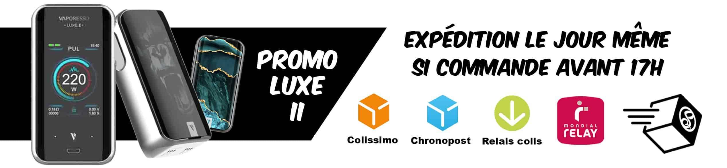 Promo Box Luxe 2 vaporesso